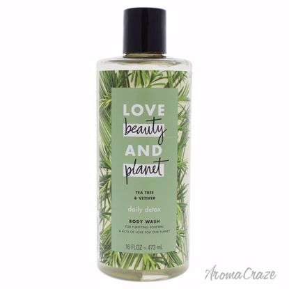 Tea Tree and Vetiver Body Wash by Love Beauty and Planet for