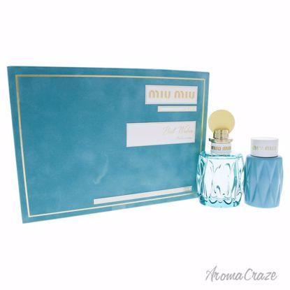 Leau Bleue by Miu Miu for Women - 2 Pc Gift Set 3.4oz EDP Sp