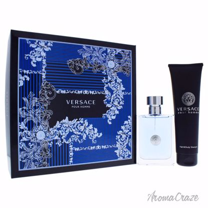 Versace Pour Homme by Versace for Men - 2 Pc Gift Set 3.4oz