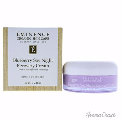 Blueberry Soy Night Recovery Cream by Eminence for Unisex -