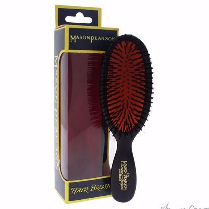 Pocket Bristle Brush - # B4 Dark Ruby by Mason Pearson for U