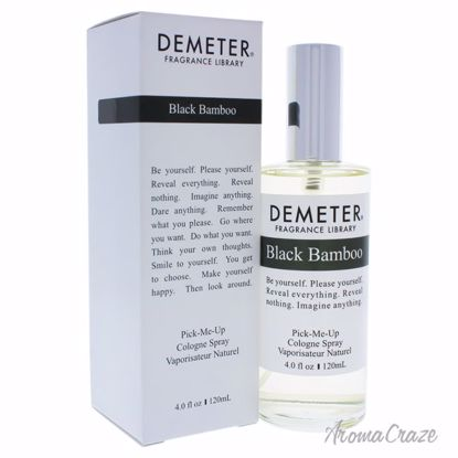 Black Bamboo by Demeter for Unisex - 4 oz Cologne Spray