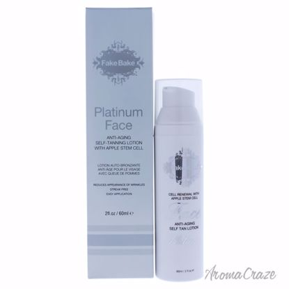 Platinum Face Anti-Aging Self-Tanning Lotion by Fake Bake fo