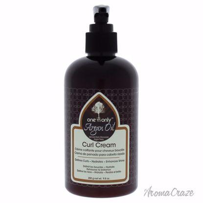 Argan Oil Curl Cream by One n Only for Unisex - 9.8 oz Cream