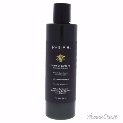 Scent Of Santa Fe by Philip B for Unisex - 11.8 oz Shampoo