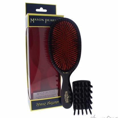Extra Large Pure Bristle Brush - # B1 Dark Ruby by Mason Pea
