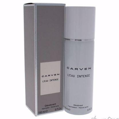 Leau Intense Deodorant Spray by Carven for Women - 5 oz Deod