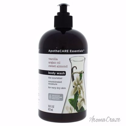 The Nourisher Vanilla Body Wash by ApotheCARE Essentials for