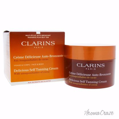 Delicious Self Tanning Cream by Clarins for Unisex - 5.3 oz