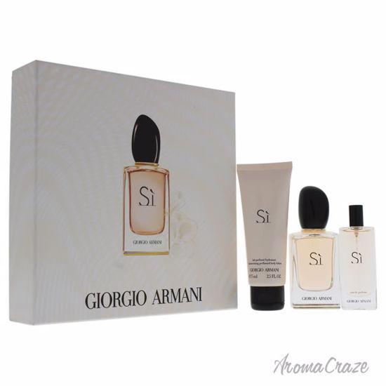 Giorgio Armani Si By Giorgio Armani For Women 3 Pc Gift Set 17oz