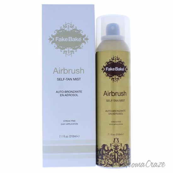 Airbrush Self-Tan Mist by Fake Bake for Women - 7.1 oz Body