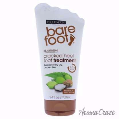 Barefoot Cracked Heels Treatment by Freeman for Unisex - 3.4