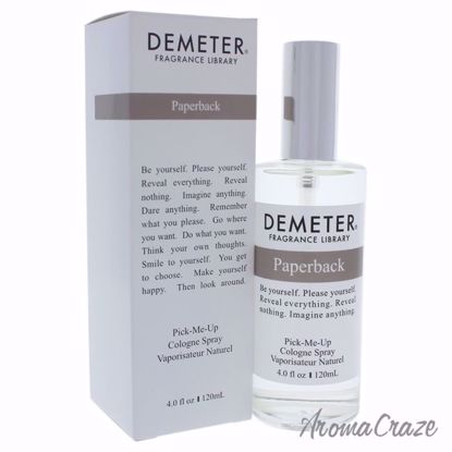 Paperback by Demeter for Unisex - 4 oz Cologne Spray