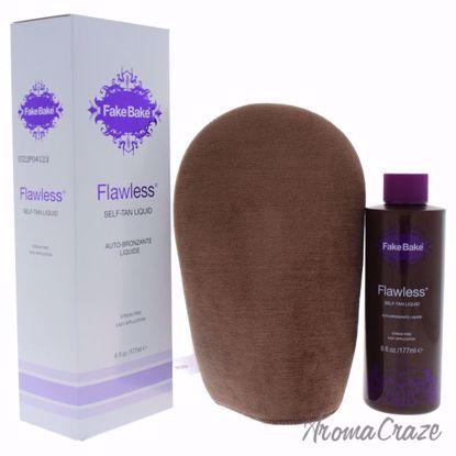 Flawless Self-Tan Liquid by Fake Bake for Women - 6 oz Body