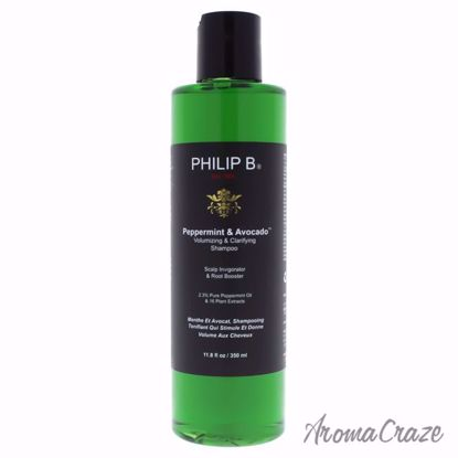 Peppermint and Avocado Volumizing and Clarifying Shampoo by