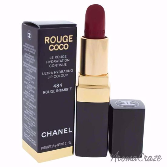 0ca6786ee2 Rouge Coco Ultra Hydrating Lip Colour - 484 Rouge Intimiste by Chanel for  Women - 0.12 oz Lipstick