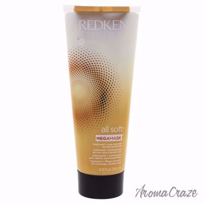 All Soft Mega Mask by Redken for Unisex - 6.8 oz Treatment - Hair Treatment Products | Best Hair Styling Product | Hair Oil Treatment | Damage Hair Treatment | Hair Care Products | Hair Spray | Hair Volumizing Product | AromaCraze.com
