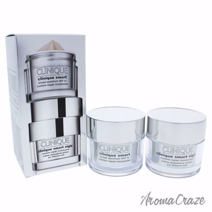 Smart Day and Night Moisturizer Set by Clinique for Women -