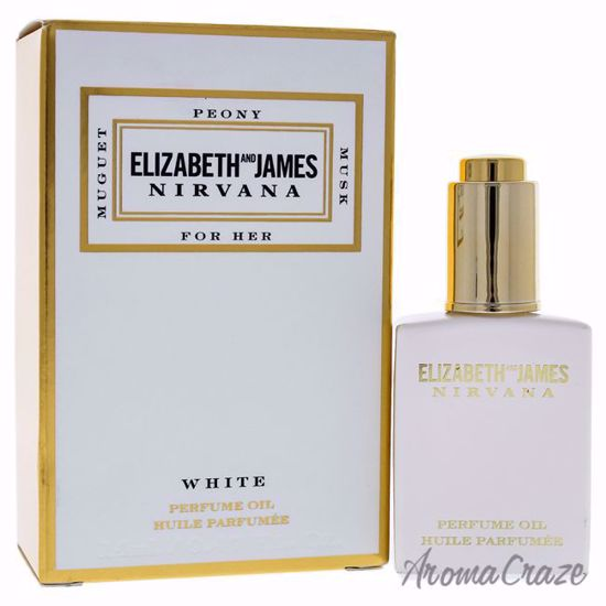 Nirvana White Perfume Oil by Elizabeth and James for Women - 15 ml - Oil - Top Skin Care Products | Best Anti Aging Skin Care Products| Body Care | All Natural Skin care | AromaCraze.com