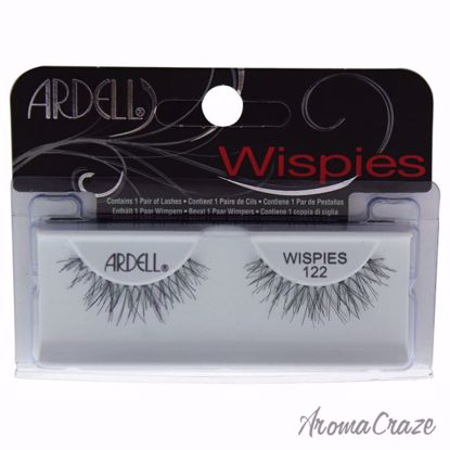 Wispies Lashes - # 122 Black by Ardell for Women - 1 Pair Eyelashes - Eye Makeup | Eye Makeup Kit | Eye Shadow | Eye liner | Eye Mascara | Eye Cosmetics Products | Eye Makeup For Big Eyes | Buy Eye Makeup Online | AromaCraze.com