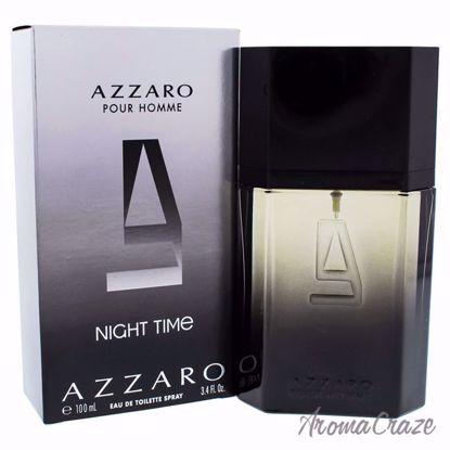 Azzaro Pour Homme Night Time by Loris Azzaro for Men - 3.4 o