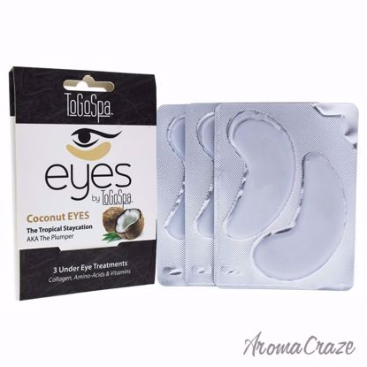 Coconut Eyes Treatment by To Go Spa for Unisex - 3 Pair Eye