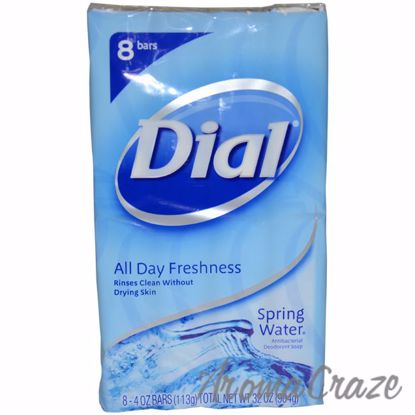 Spring Water Antibacterial Deodorant Soap by Dial for Unisex