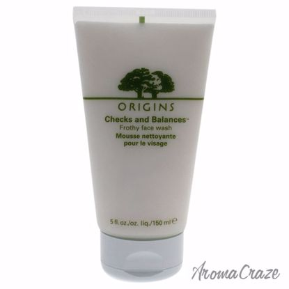 Checks and Balances Frothy Face Wash by Origins for Unisex - 5 oz Face Wash - Face Care Products | Facial Care Products | All Natural Skin care | Best Anti Aging Skin Care Products | AromaCraze.com