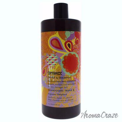 Triple RX Shampoo by Amika for Unisex - 33.8 oz Shampoo