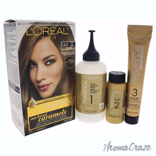preference by loreal hair color