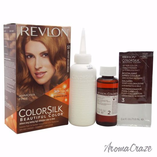 Colorsilk Beautiful Color 57 Lightest Golden Brown By Revlon For