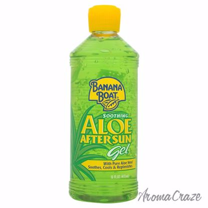 Soothing Aloe After Sun Gel by Banana Boat for Unisex - 16 o