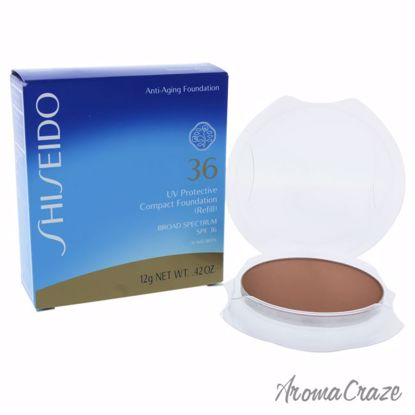 UV Protective Compact Foundation Broad Spectrum SPF 36 - Medium Beige by Shiseido for Unisex - 0.42 oz Sunscreen (Refill) - Sun Protection Products | Sun Care Products | Best Sunscreen | Sun Cream Lotion | UV Protection | Body Care | All Natural Skin care | AromaCraze.com