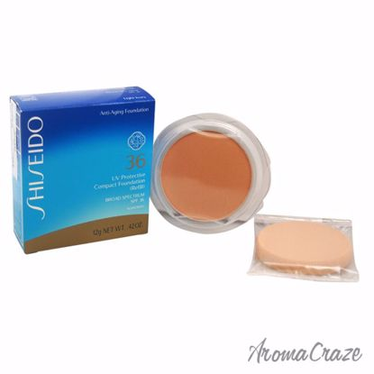 UV Protective Compact Foundation (Refill) Broad Spectrum SPF 36 - Light Ivory by Shiseido for Unisex - 0.42 oz Sunscreen - Sun Protection Products | Sun Care Products | Best Sunscreen | Sun Cream Lotion | UV Protection | Body Care | All Natural Skin care | AromaCraze.com
