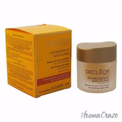 Aromessence Marjolaine Nourishing Night Balm by Decleor for Unisex - 0.47 oz Balm - Lip Care Products | Lip Balm | Lip Shimmer | Lip Moisturizers | Best Selling Lip Care Products | All Natural Skin care | AromaCraze.com