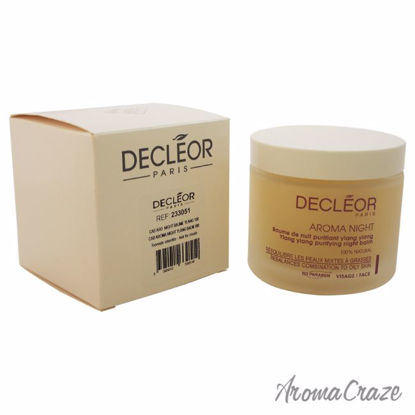 Aroma Night Ylang Ylang Purifying Night Balm For Combination To Oily Skin by Decleor for Unisex - 3.3 oz Balm (Salon Size) - Lip Care Products | Lip Balm | Lip Shimmer | Lip Moisturizers | Best Selling Lip Care Products | All Natural Skin care | AromaCraze.com