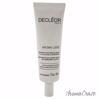 Aroma Lisse Dark Circle & Eye Wrinkle Eraser by Decleor for Unisex - 1 oz Wrinkle Eraser - Eye Care Products | Eye Treatment | Eye Skincare Products | All Natural Skin care | Best Anti Aging Skin Care Products |  AromaCraze.com