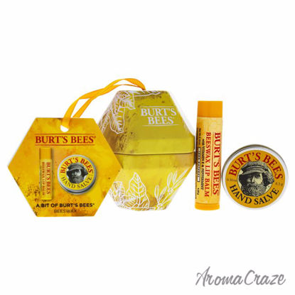 A Bit of Burts Bees Beeswax Kit by Burts Bees for Unisex - 2 Pc Kit 0.15 oz Beeswax Lip Balm, 0.3oz Hand Salve - Lip Care Products | Lip Balm | Lip Shimmer | Lip Moisturizers | Best Selling Lip Care Products | All Natural Skin care | AromaCraze.com