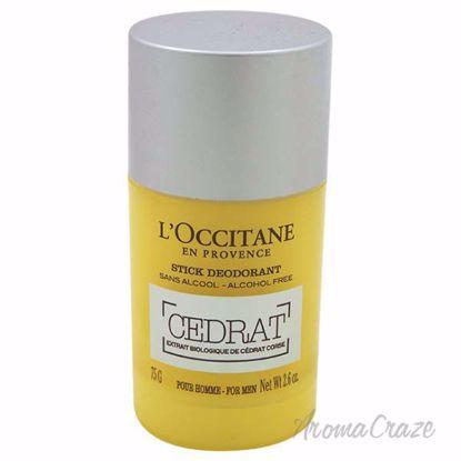 Cedrat Stick Deodorant by LOccitane for Men - 2.6 oz Deodora