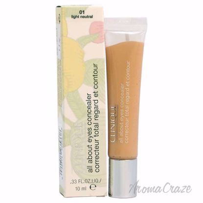 All About Eyes Concealer - # 01 Light Neutral by Clinique for Women - 0.33 oz Concealer - Eye Makeup | Eye Makeup Kit | Eye Shadow | Eye liner | Eye Mascara | Eye Cosmetics Products | Eye Makeup For Big Eyes | Buy Eye Makeup Online | AromaCraze.com