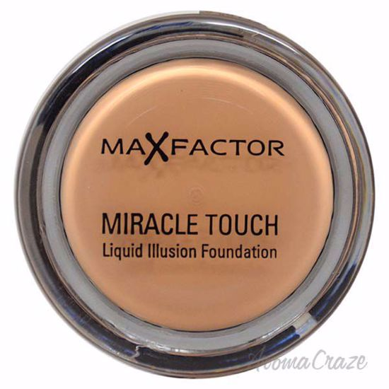 Miracle Touch Liquid Illusion Foundation - # 60 Sand by Max Factor for Women - 11.5 g Foundation - Face Makeup Products | Face Cosmetics | Face Makeup Kit | Face Foundation Makeup | Top Brand Face Makeup | Best Makeup Brands | Buy Makeup Products Online | AromaCraze.com