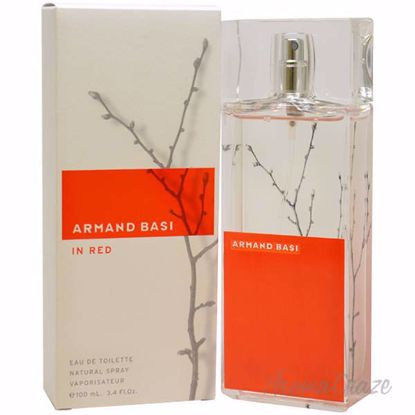 Armand Basi Red by Armand Basi for Women - 3.4 oz EDT Spray