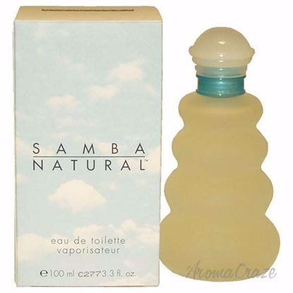 Samba natural by Perfumers Workshop for Women - 3.3 oz EDT S