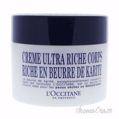 Shea Butter Ultra Rich Body Cream by LOccitane for Unisex -