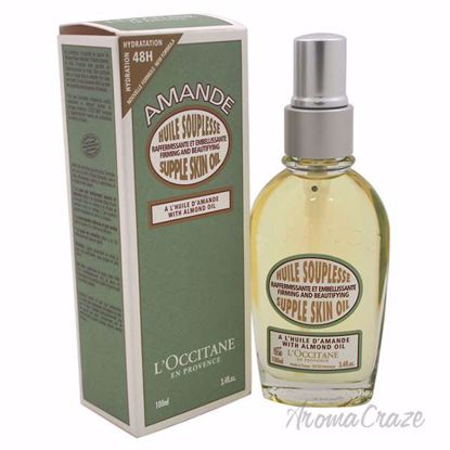 Almond Supple Skin Oil by LOccitane for Unisex - 3.4 oz Body