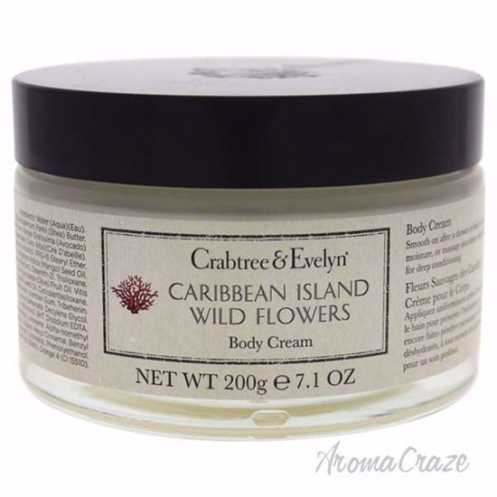 Caribbean Island Wild Flowers Body Cream by Crabtree & Evely
