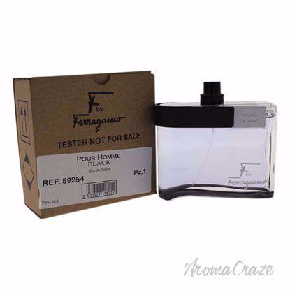 F Black by Salvatore Ferragamo for Men - 3.4 oz EDT Spray (T