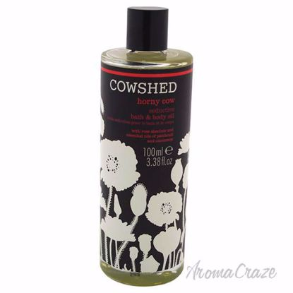 Horny Cow Seductive Bath & Body Oil by Cowshed for Women - 3.38 oz Oil - Top Skin Care Products | Best Anti Aging Skin Care Products| Body Care | All Natural Skin care | AromaCraze.com