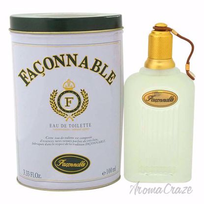 Faconnable by Faconnable for Men - 3.33 oz EDT Spray (Tester