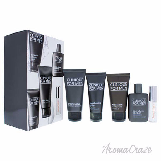 Clinique Travel Pro by Clinique for Men - 5 Pc Gift Set 0.24oz Clinique Happy EDT Spray 1.7oz Face Wash 1.4oz Moisturizing Lotion 2oz Cream Shave ...  sc 1 st  AromaCraze.com & Clinique Travel Pro by Clinique for Men - 5 Pc Gift Set 0.24oz ...